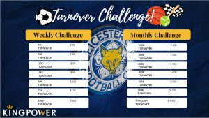 Turnover Challenge at KIngPower88