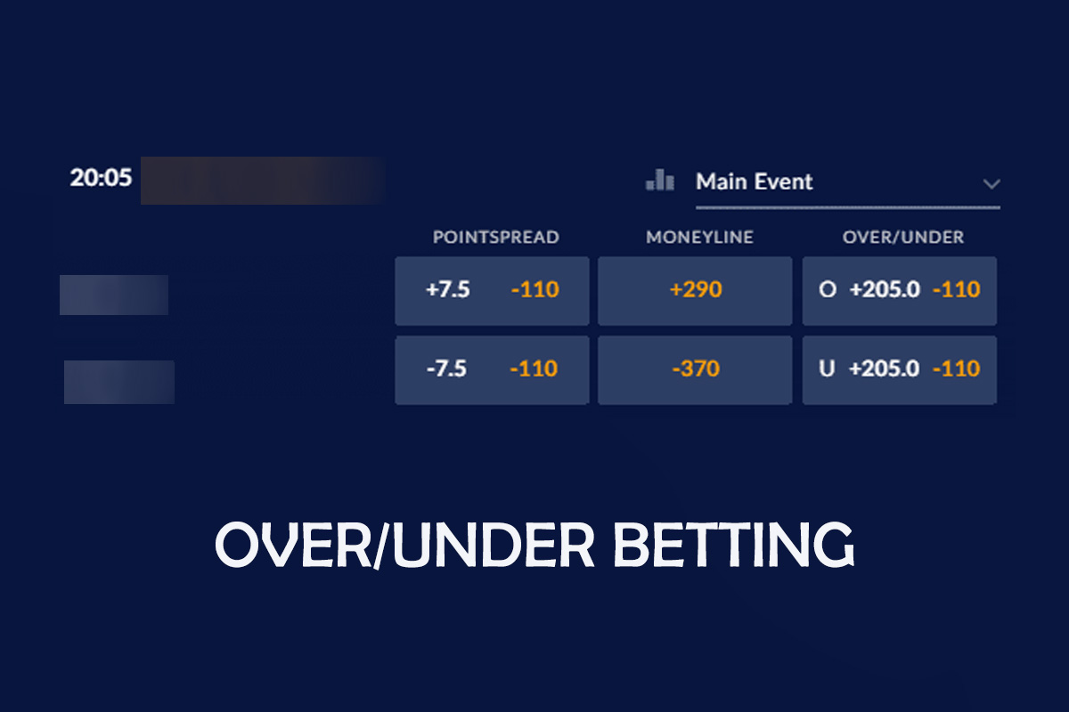 Over under betting does mean texting binary options winning formula pdf merge