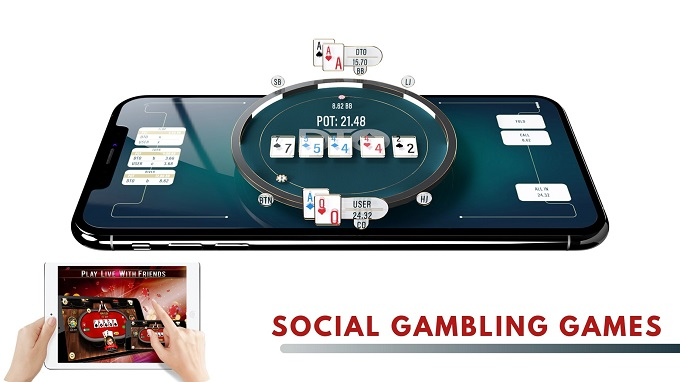 What is a social casino and how can I earn virtual coins?