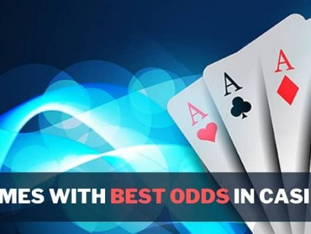 List of Games with Best Odds in Casino