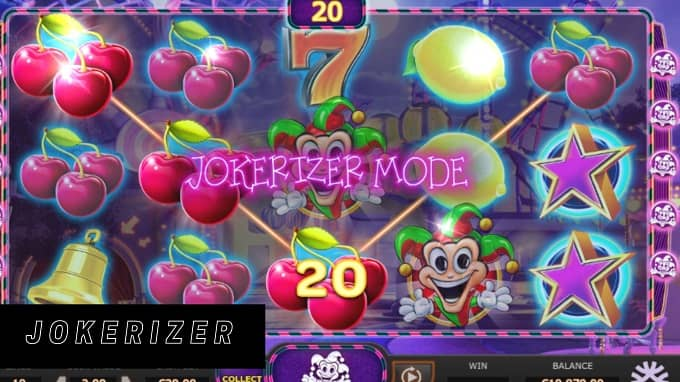 What is the Return To Player percentage of Jokerizer?