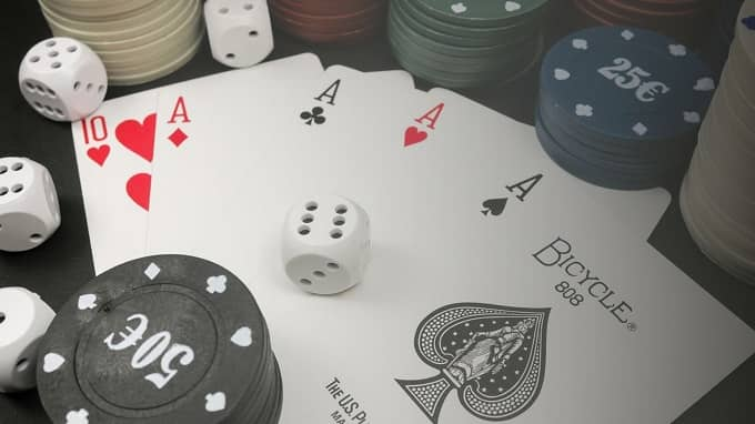 Which one is better playing poker with real money or without?