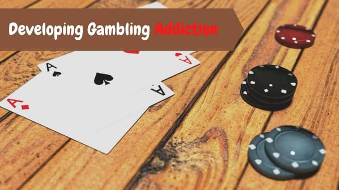 What is the risk of gambling online?