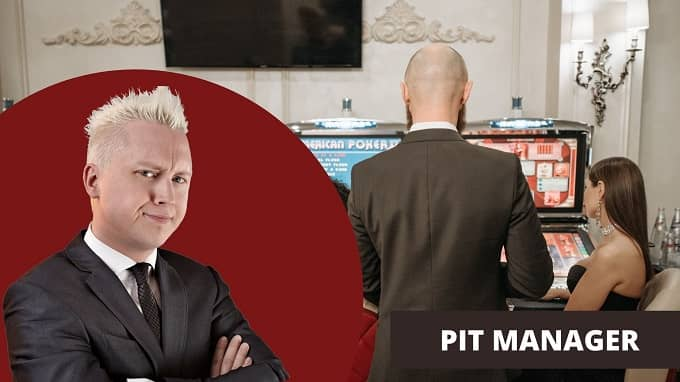 What is the job description of a pit manager?