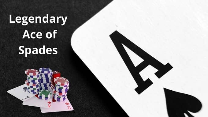 Did you know that the Ace of Spades is a powerful card?