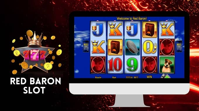 What is the RTP of the Red Baron Slot machine?