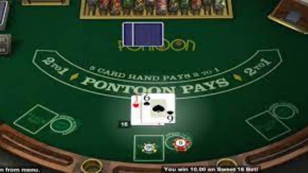 What are the key rules when you play Pontoon?